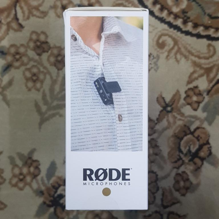 Rode Wireless Go Wireless Clip Mic Microphone Clearance !