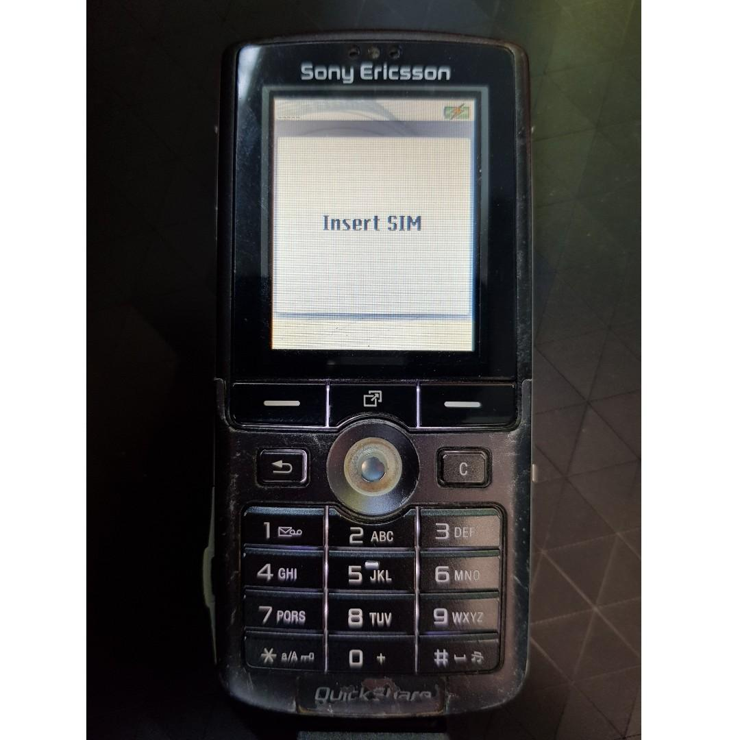 Super Rare Retro Sony Ericsson K750i Antique Handphone (with box, battery, charger etc)