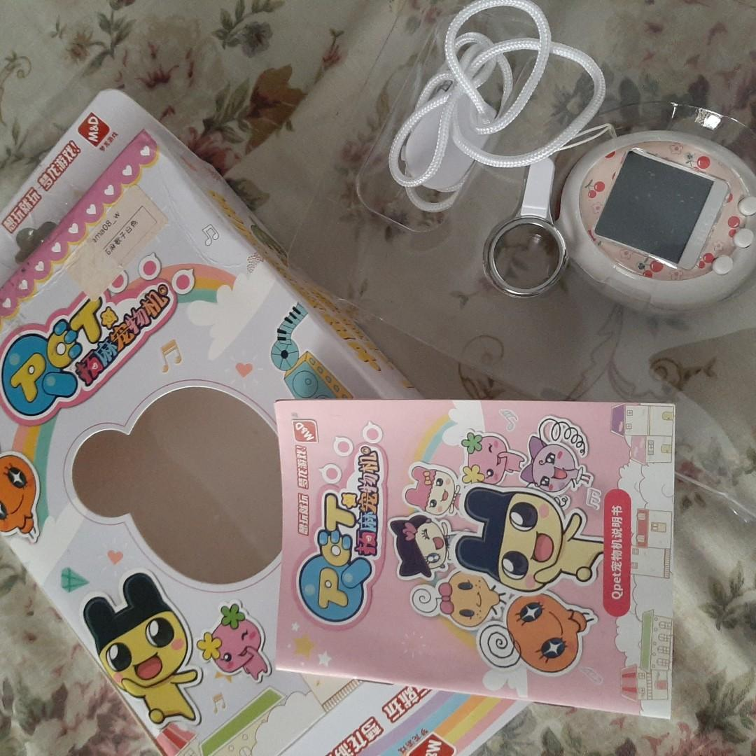 Tamagotchi Berwarna Q-Pet / Tamagotchi Colour #maugendongan