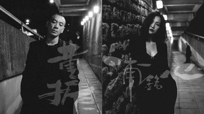 《The Album Part One》雙面大海報,Juno 麥浚龍 x Kay 謝安琪,100%全新,港鐵坑口站面交