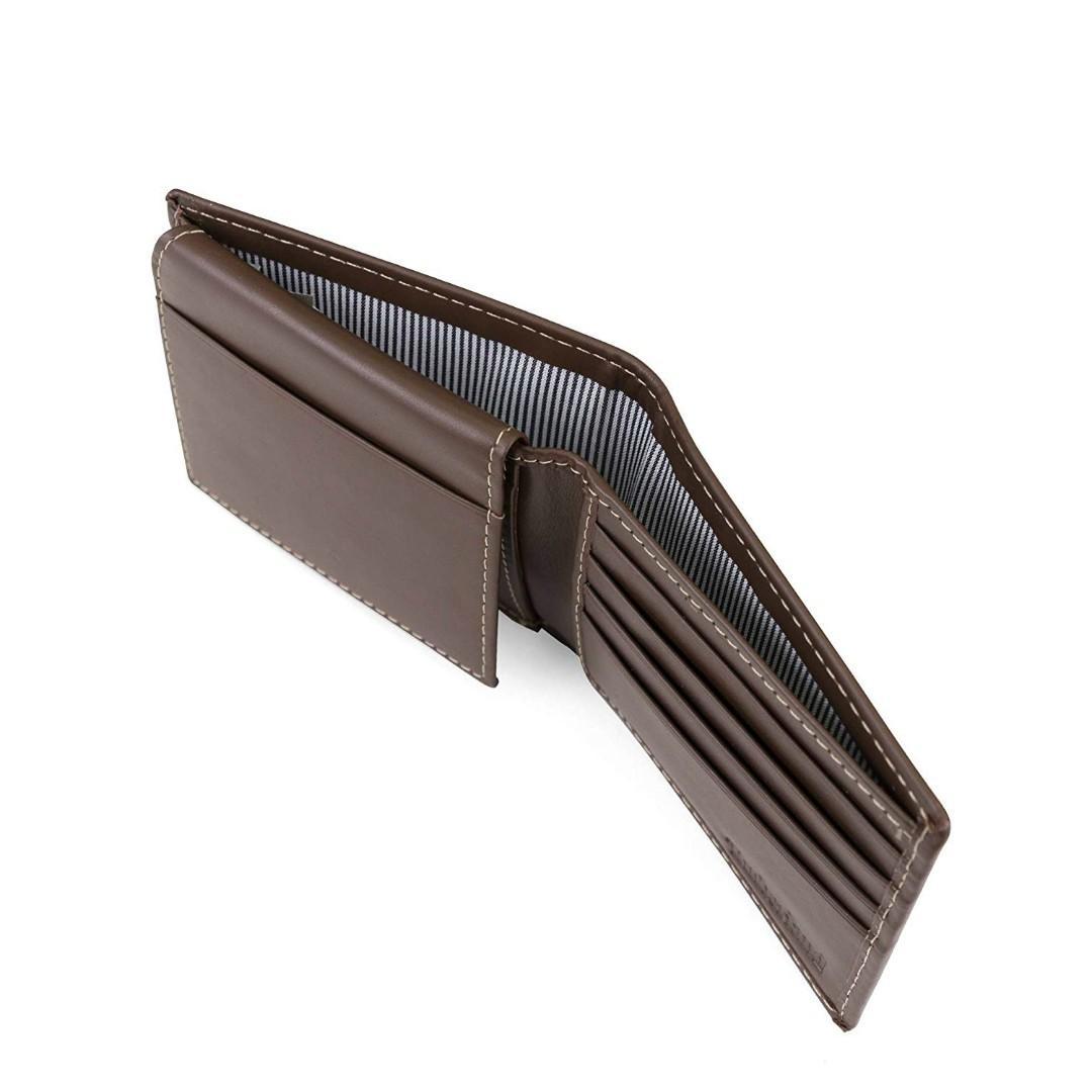 Timberland Leather Wallet 男士真皮銀包 附送禮盒 全新現貨正品