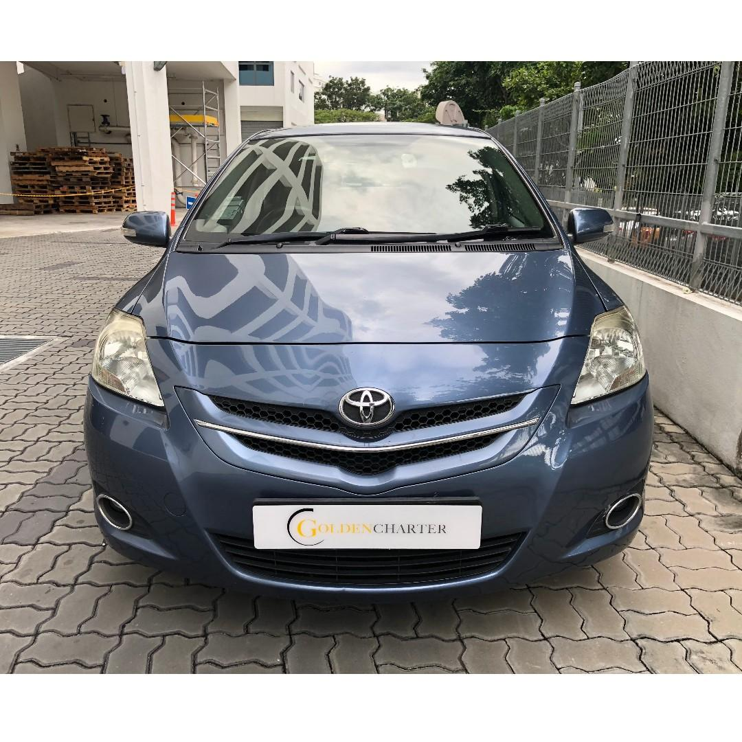 Toyota Vios For Lease/Rent|PHV or Personal can rent. Weekly rebate available