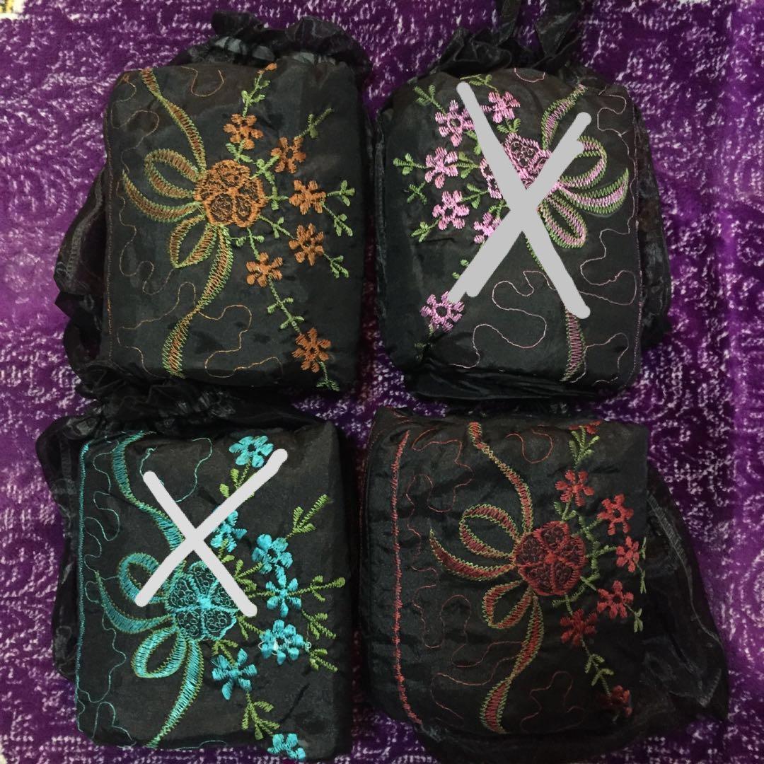 Travel telekung with bag