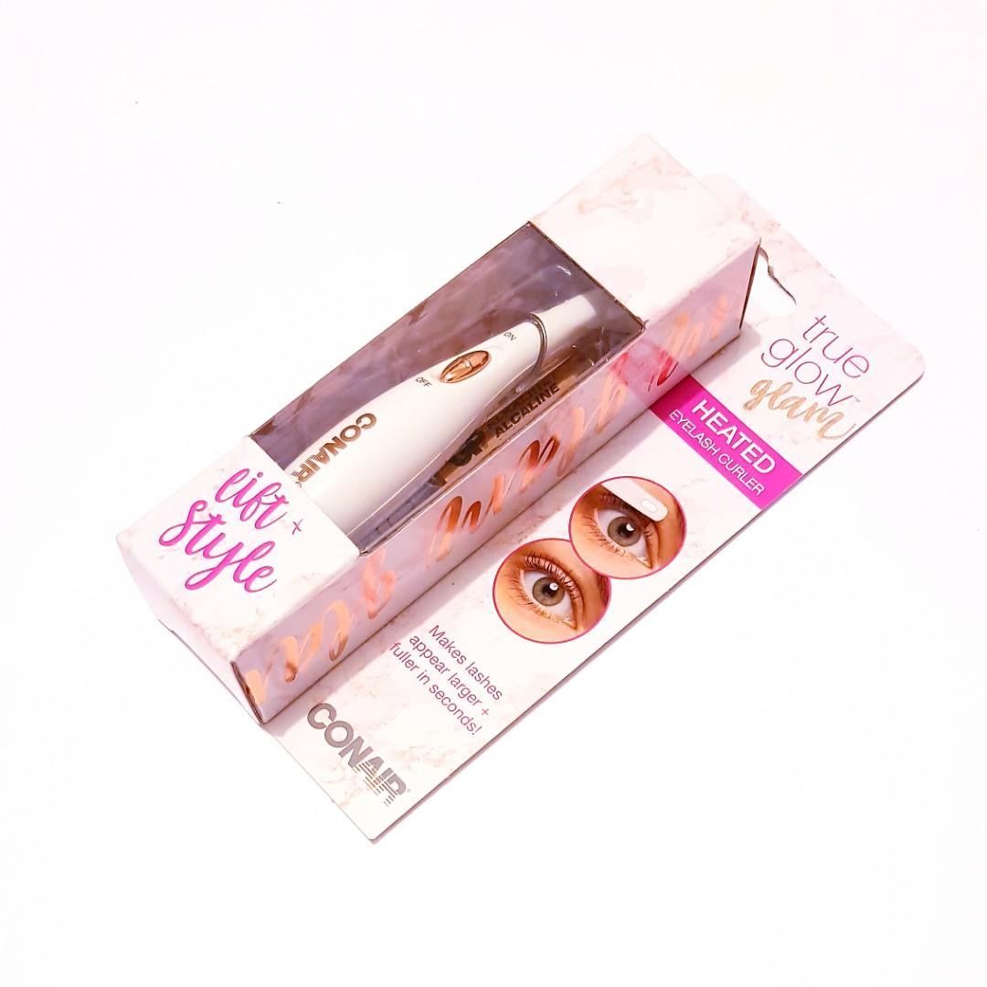 True Glow Glam Bold Eyelashes Add Lift & Style Heated Wand Eyelash Curler
