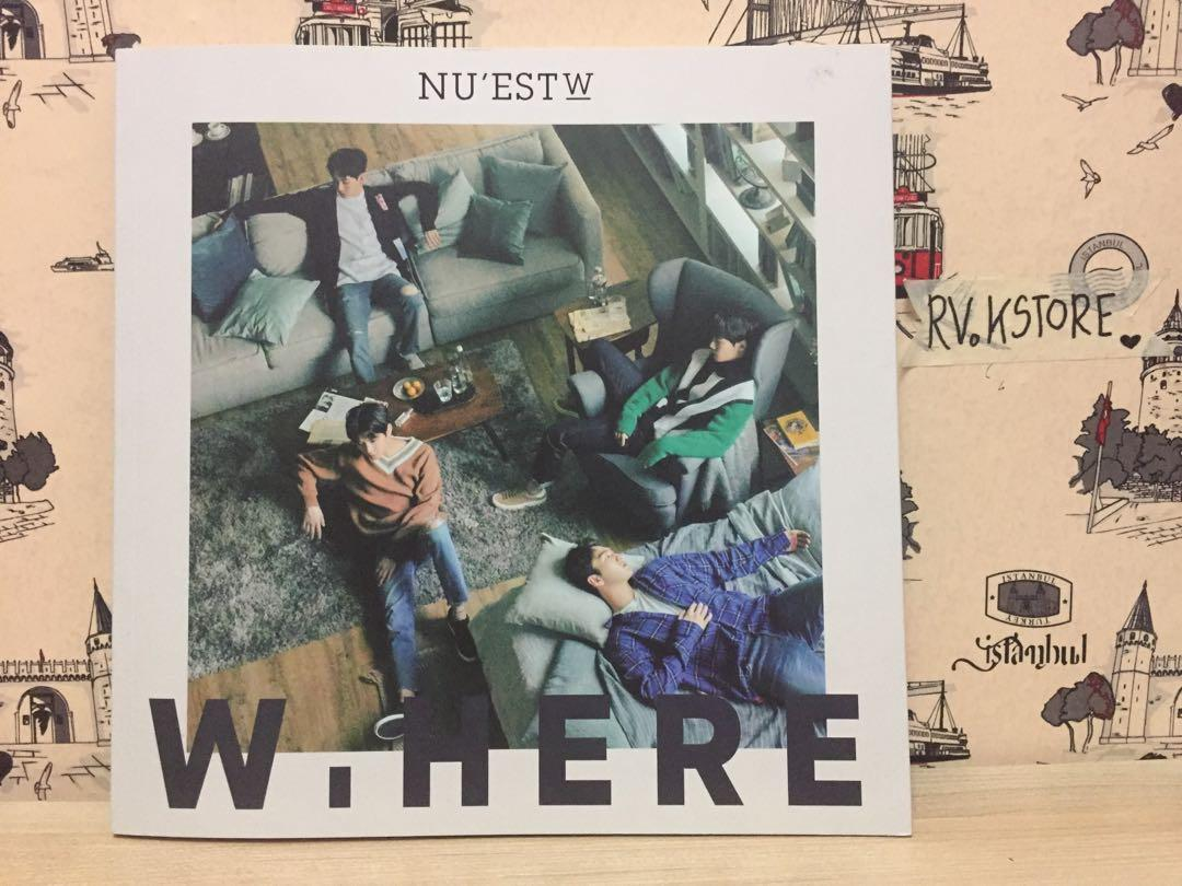 [PROMO] (Unsealed) NUEST W - W.HERE  (No Photocard)
