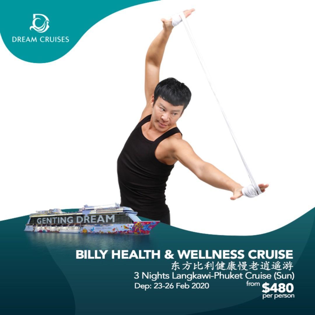 WTS Travel Dream Cruises - Billy Health & Wellness Cruise