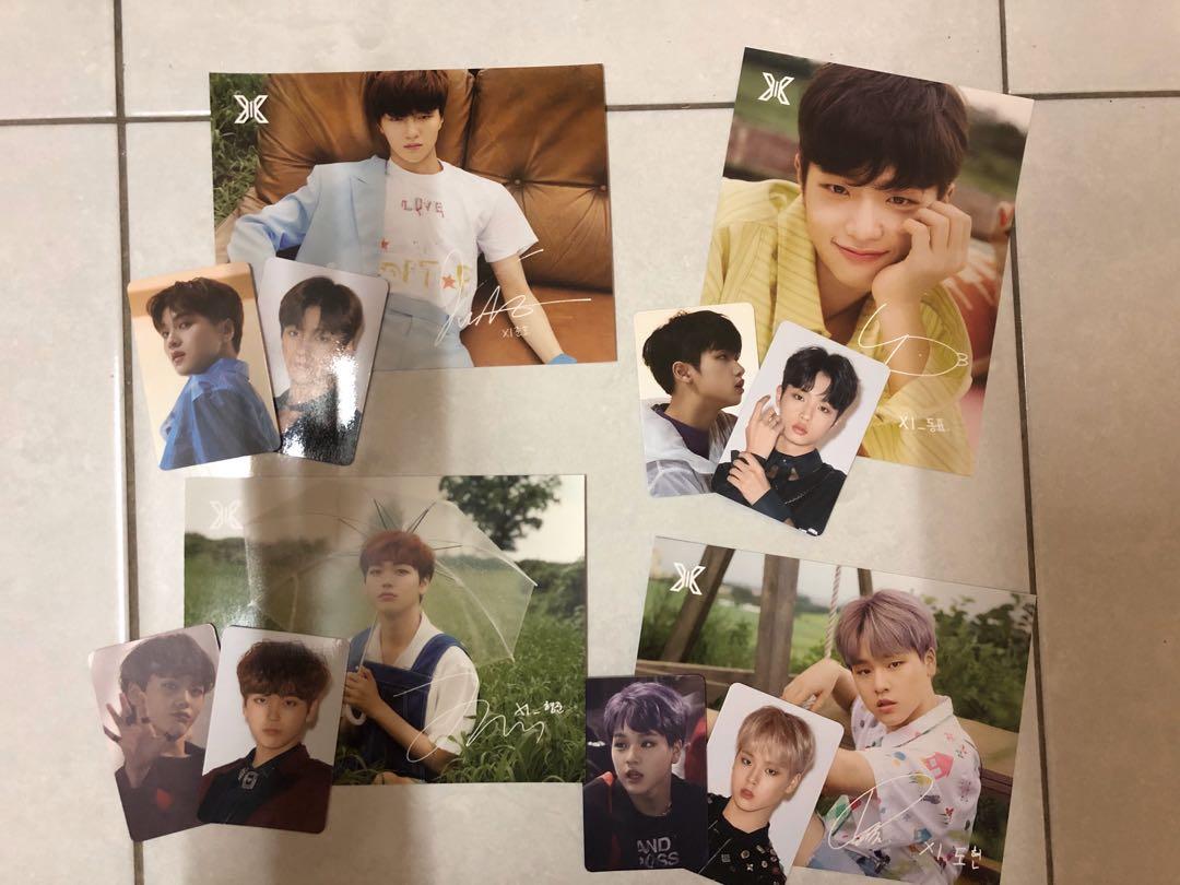 X1 Junho Dongpyo Hyeongjun Dohyon Showcase Merchandise Photocards