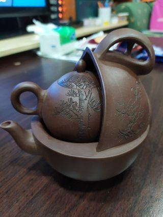 壺中壺/茶壺/這我不懂,收藏許久~