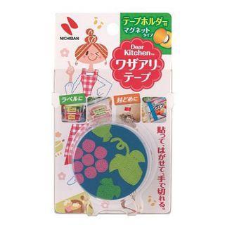 🇯🇵日本製🇯🇵 NICHIBAN 食物保存日期膠帶附磁鐵