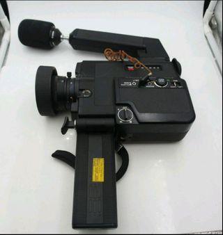 1976s  Canon 514XL-S  8mm 超級八釐米電影攝影機 (折疊握把內含電池盒)收藏級  實品如圖