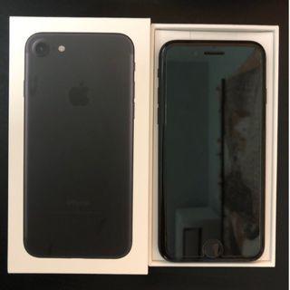 iPhone7 128G消光黑(保固內)