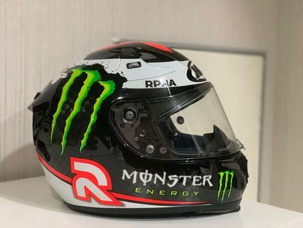 Original HJC RPHA 10 Plus Lorenzo Helmet