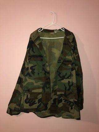 Camo jacket oversized