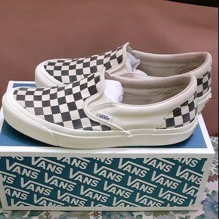 Vans Slip On  OG Checkerboard B/W