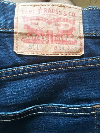 Celana Jeans Levis 511 Slim Fit ORI