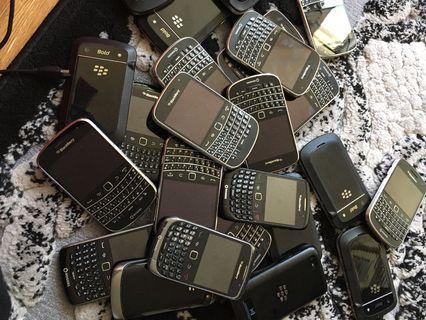 Blackberry Playbook & Broken Blackberry Phones
