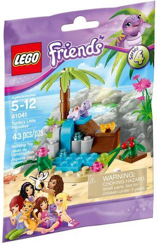 Lego 2014 Friends - Animal Series 4 - 41041 Turtle's Little Paradise