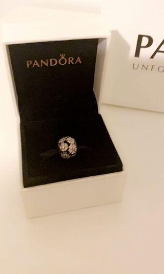 Pandora Pink Flowers Charm