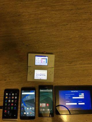 Sony blackberry tablet ipad