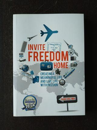 Invite Freedom Home by Tham Chee Wah non-fiction English book new edition