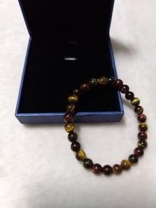 ♥️萍價水晶♥️ 天然 三色虎眼 手珠 手飾 飾品(37)