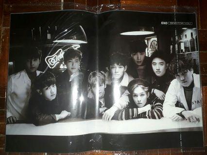 Exo Poster 6 posters per set