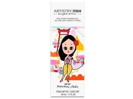 ARTISTRY STUDIO Bangkok Edition Face & Body Shimmer Gel