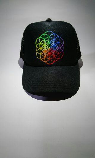 Topi logo Coldplay