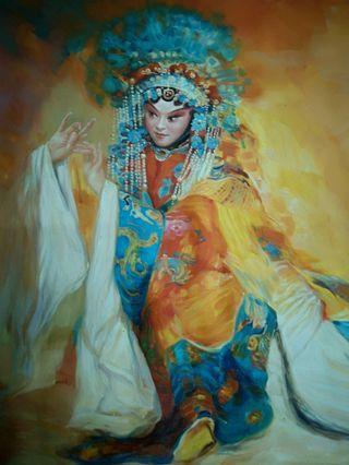 Opera Oil Painting