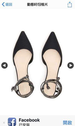 Dior 緞帶鞋