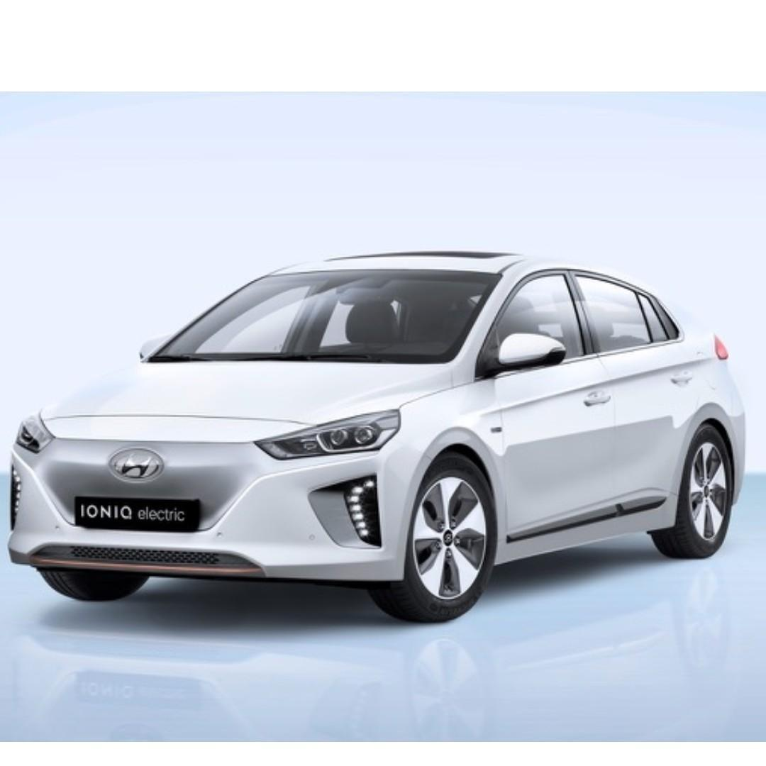 2019 NEW Hyundai Ioniq Eligible for Grab / Personal Use