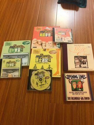 英文學習書+CD(3書+3CD+另外兩本)