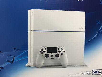 二手PS4  500G 基本配備+兩片遊戲