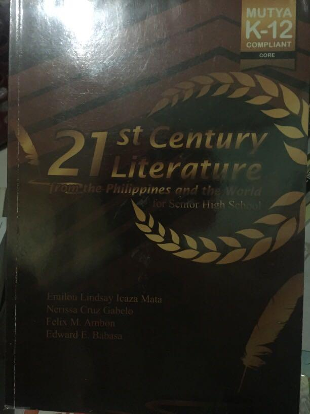 21st Century Literature from the Philippines and the World for Senior High School