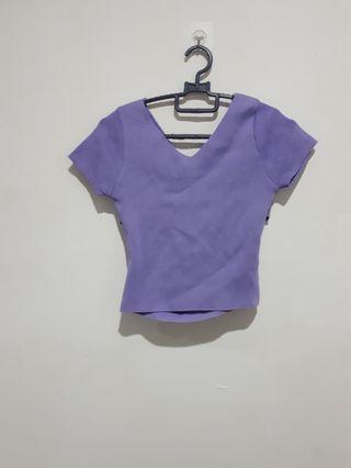 Purple sexy top