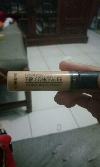 The saem cover perfection tip concealer shade 1.75