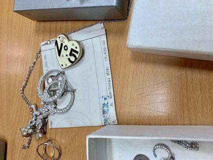 Dior女王氣場皇冠水鑽閃閃動人耳環