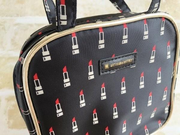 日本雜誌附錄附贈 ARTISAN&ARTIST 口紅 手提收納包 旅行包 化妝包 收納袋