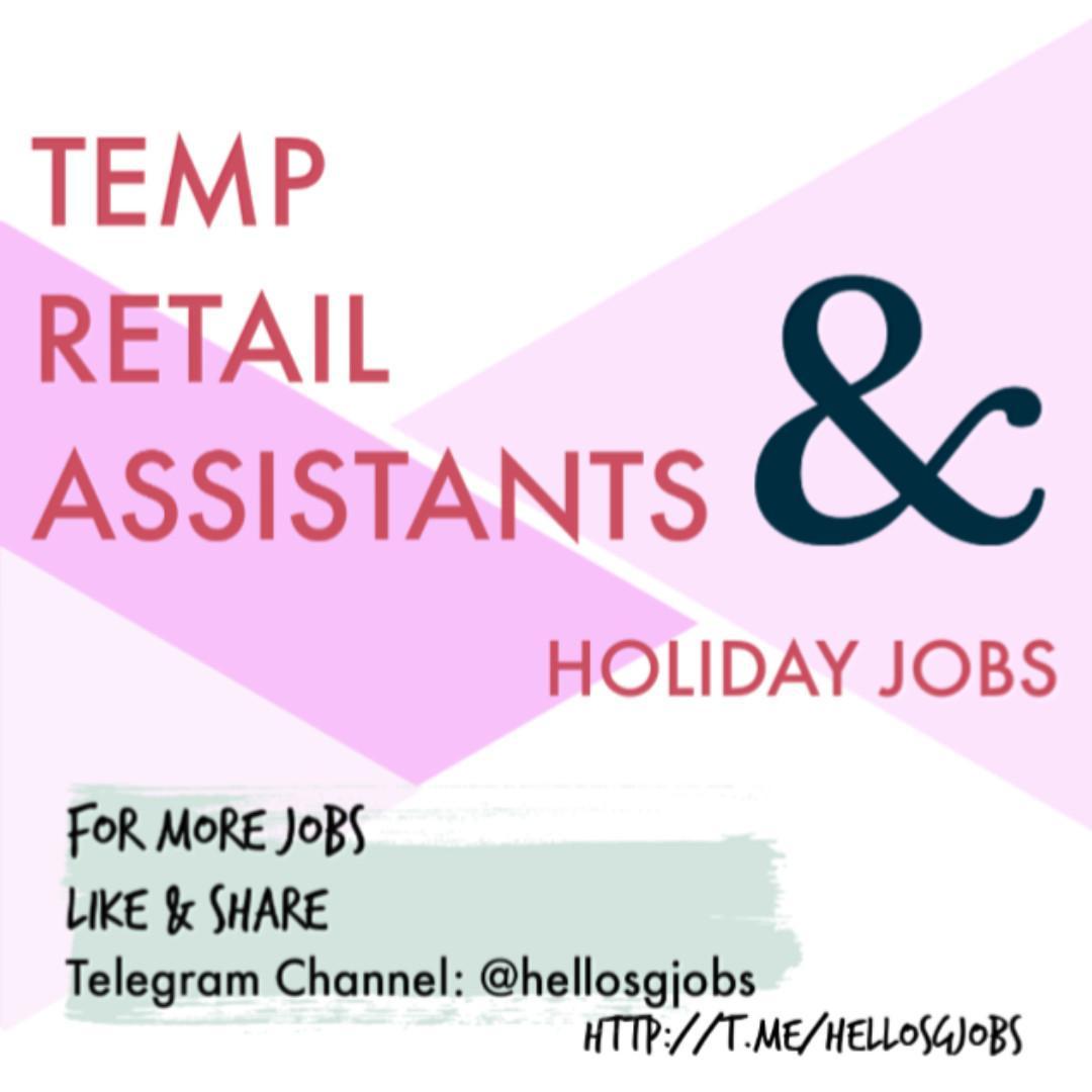 ⭐️ Sports Retail Assistants (Part-Time) ⭐️ Min 3 days/week