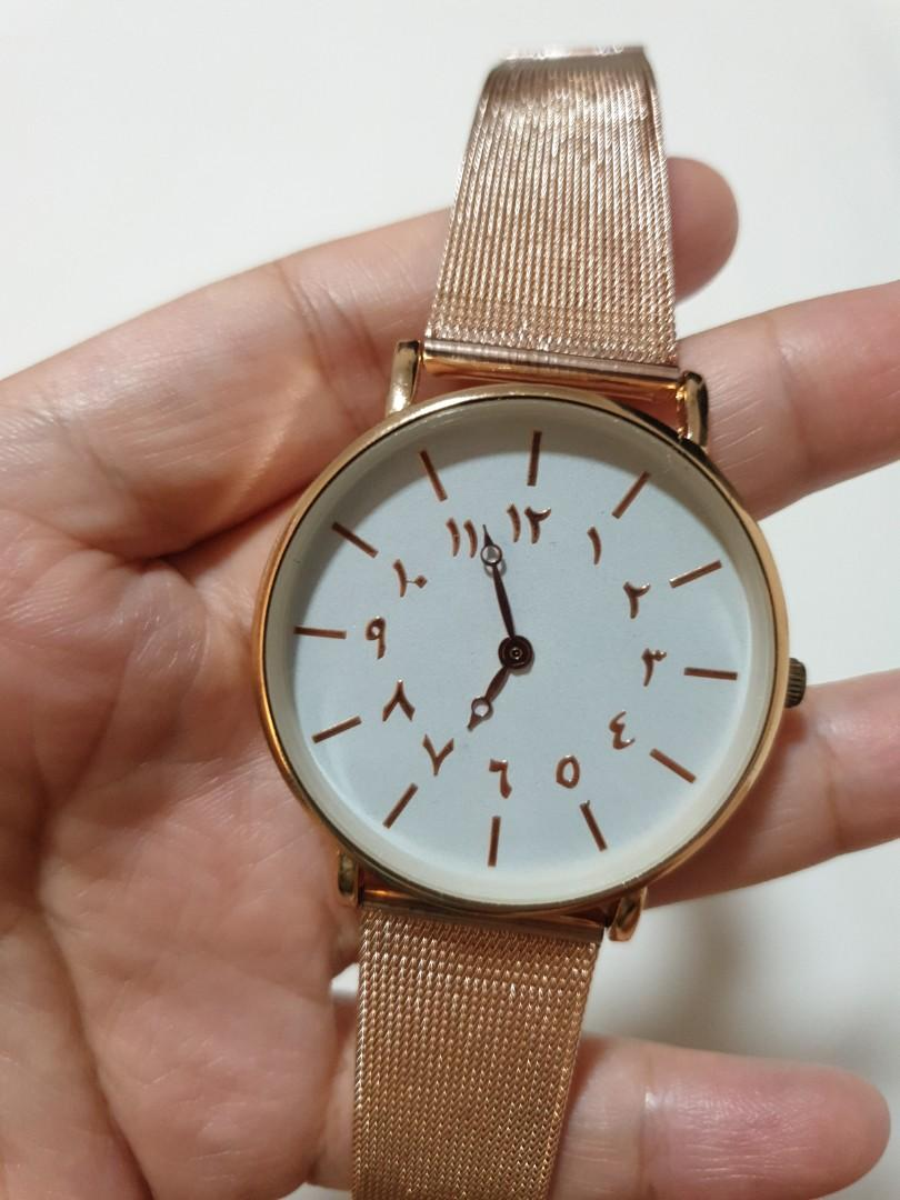 Arabic Number Watches
