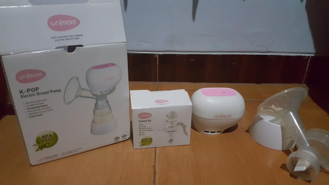 Breast pump 2 in 1 Elektrik & Manual ( Alat Pompa Asi )