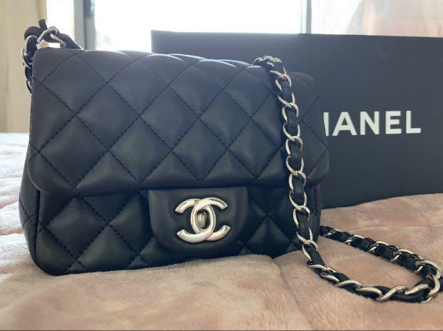 Chanel mini square flap bag