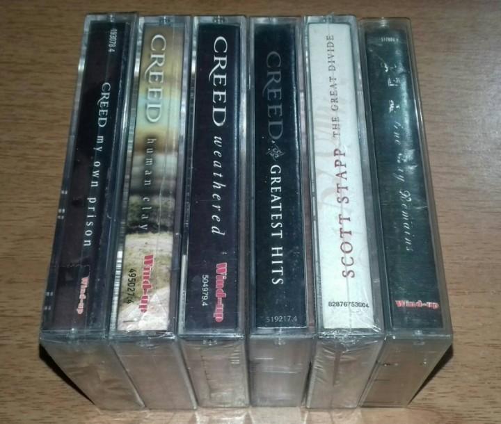 CREED - SCOTT STAPP - ALTER BRIDGE - Cassette Tape