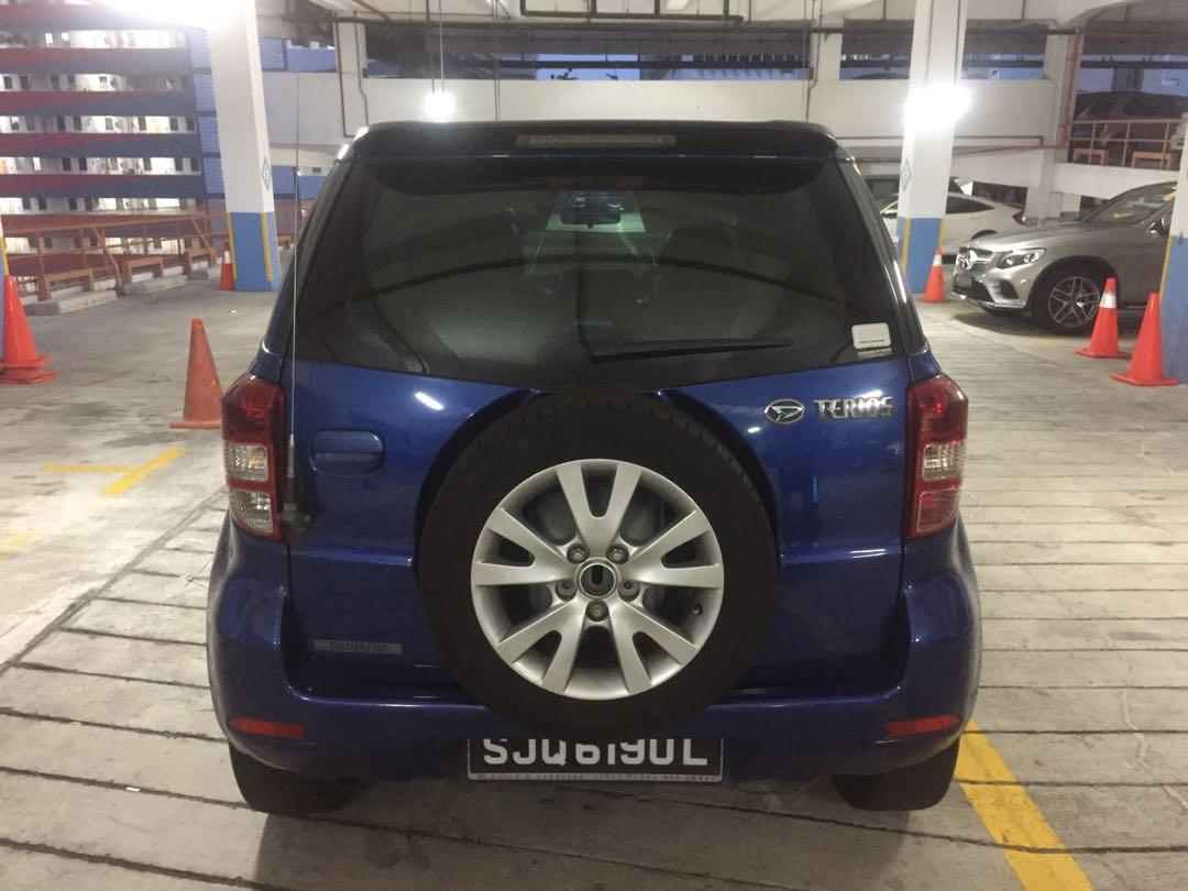 Daihatsu Terios 1.5 4WD Deluxe Grade Euro V (A)
