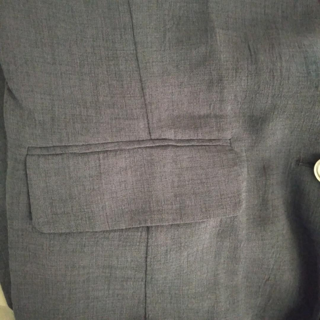 Dark Grey Korean Blazer