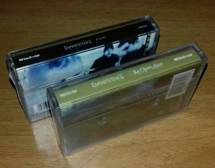 EVANESCENCE - Fallen & The Open Door - Cassette Tape | Linkin Park Korn Adema 12 Stones Seether Papa Roach Static X System Of A Down
