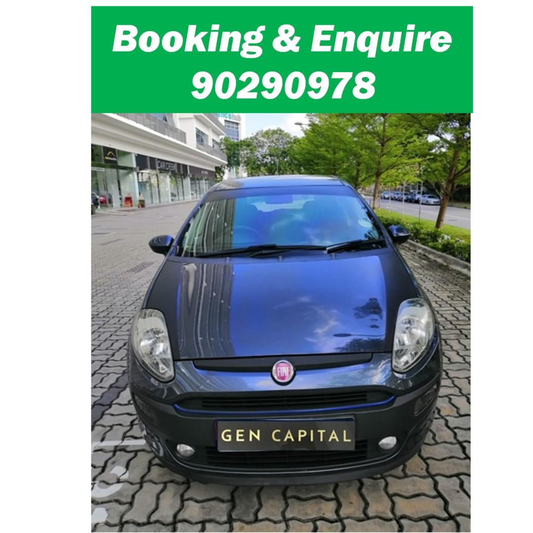 Fiat Punto Evo - Many ranges of car to choose from, with very reliable rates! Hurry while car is still in stock!