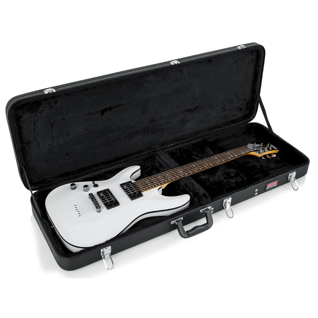 Gator GWE-ELEC Hard-Shell Wood Case for Electric Guitars