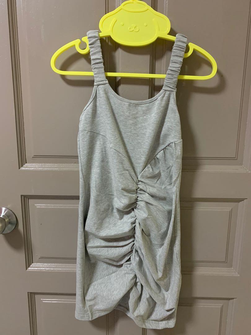 Grey clubbing dress