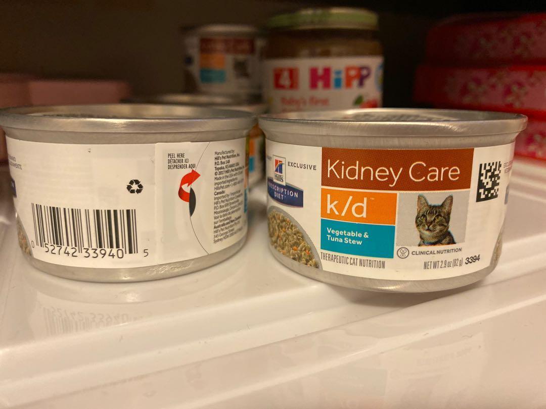 hill's 腎貓 k/d 濕糧 罐罐 5罐